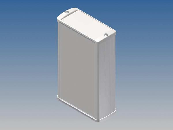 ALUMINIUM HOUSING - WHITE - 145 x 85.8 x 36.9 mm