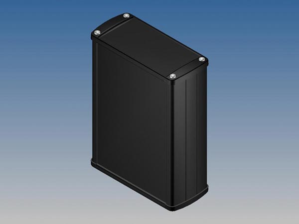 ALUMINIUM HOUSING - BLACK - 145 x 105.9 x 45.8 mm
