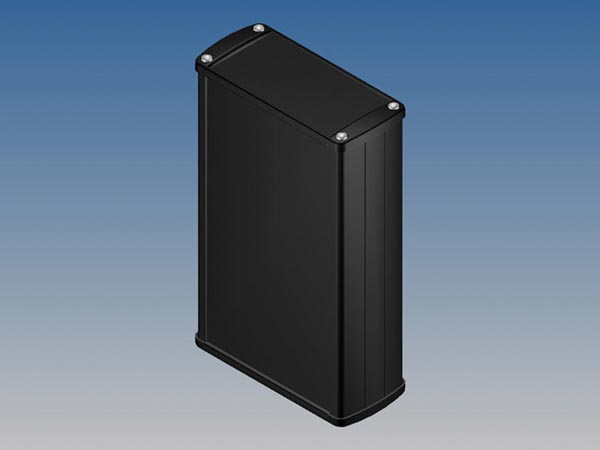 ALUMINIUM HOUSING - BLACK - 175 x 105.9 x 45.8 mm