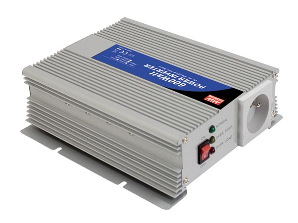 Modified Sine Wave Dc-ac Power Inverter 12 V - 600 W - French Socket