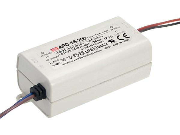 Led-driver Met Constante Stroom - 1 Uitgang - 700ma - 16w