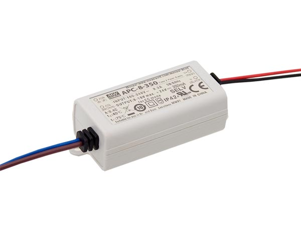 Constant Current LED Driver - Single Output - 350 Ma - 8.05 W