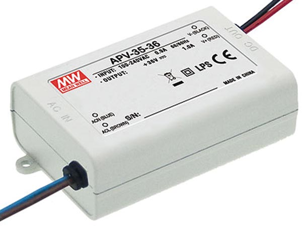 Switching Power Supply - Single Output - 35w - 24 V