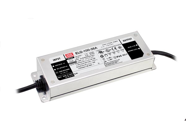 SWITCHING POWER SUPPLY - SINGLE OUTPUT - 100 W - 24 V - 3 WIRE INPUT
