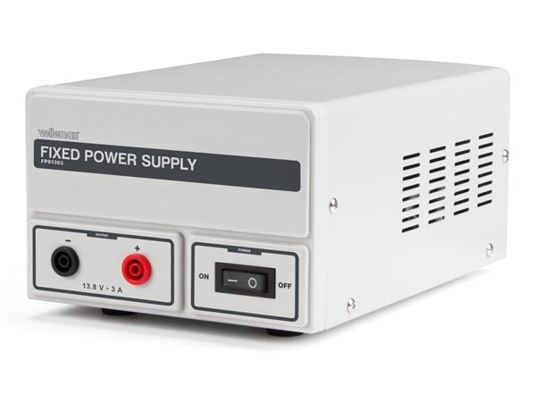 FIXED POWER SUPPLY 13.8 VDC / 3 A