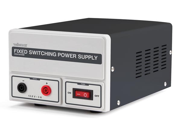 FIXED SWITCHING MODE POWER SUPPLY 13.8 VDC / 3 A