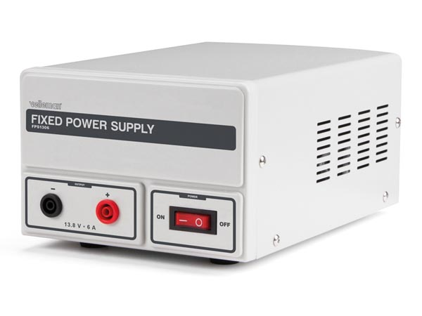 FIXED POWER SUPPLY 13.8 VDC / 6 A