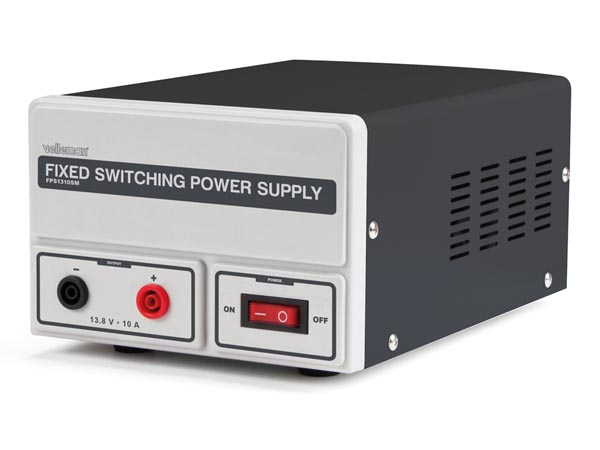 FIXED SWITCHING MODE POWER SUPPLY 13.8 VDC / 10 A