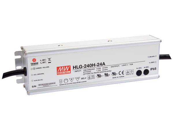 SWITCHING POWER SUPPLY - SINGLE OUTPUT - 240 W - 24 V