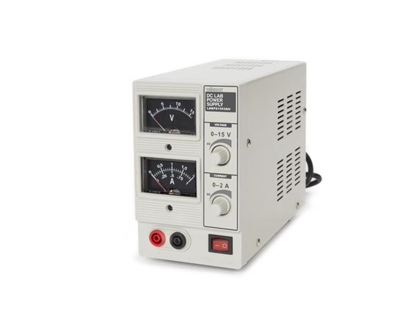 Dc Regulated Lab Power Supply 0-15 Vdc / 0-2 A Analog