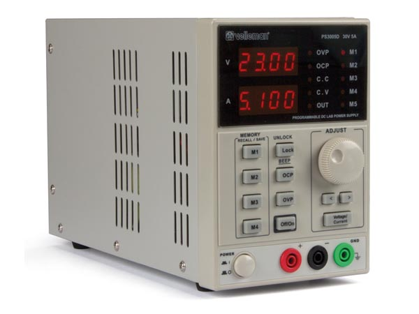 Labps3005d Programmable Dc Lab Power Supply 0 30 Vdc 5a