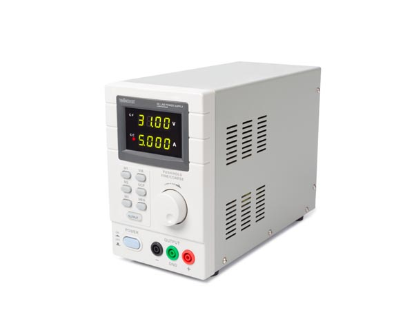 PROGRAMMABLE DC LAB POWER SUPPLY 0-30 VDC / 5 A max DUAL LED DISPLAY with USB 2.0 INTERFACE