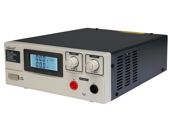 DC LAB SWITCHING MODE POWER SUPPLY 0-30 VDC / 0-20 A MAX WITH LCD DISPLAY
