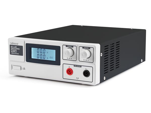 DC LAB SWITCHING MODE POWER SUPPLY 0-30 VDC / 0-30 A MAX WITH LCD DISPLAY