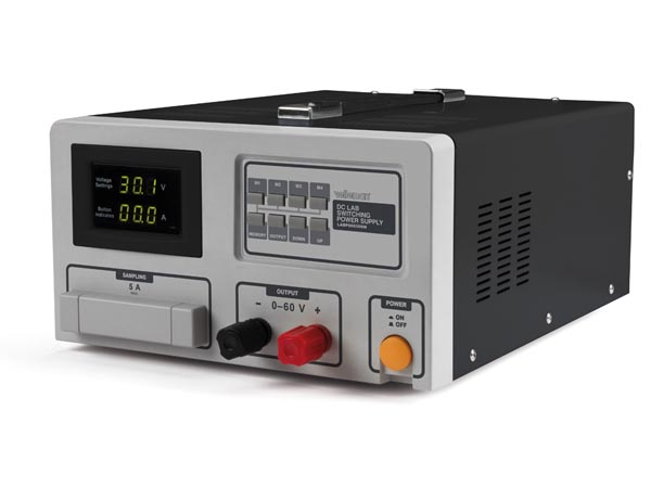 DC LAB SWITCHING MODE POWER SUPPLY 0-60 VDC / 0-30 A MAX WITH LED DISPLAY