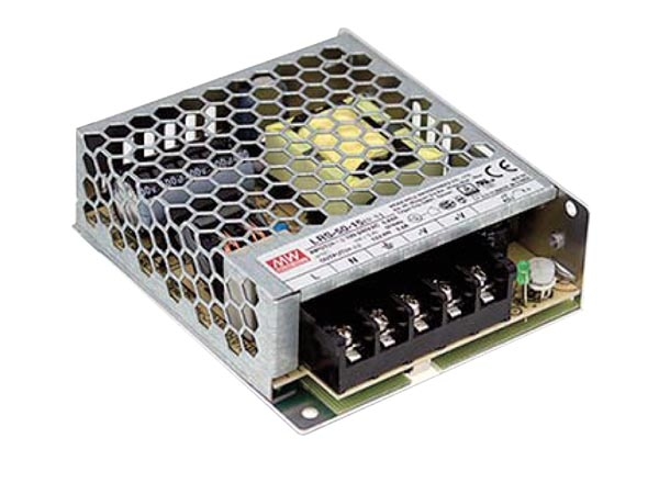 Switching power supply : modular; 50,4W ; 12VDC; 4,2A; 85÷264VAC ( MeanWell )