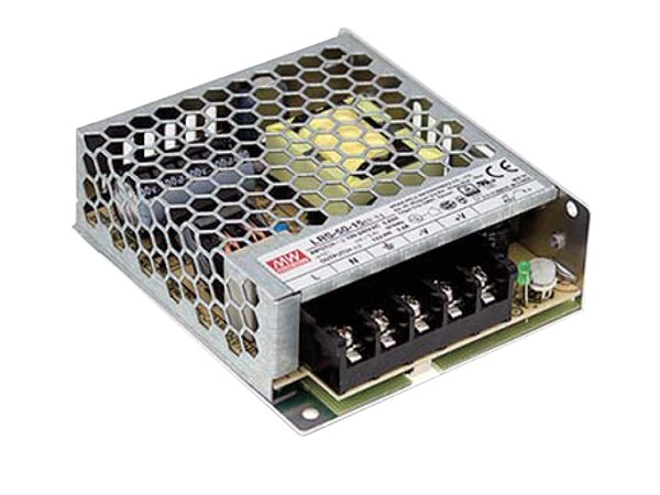 ITE SWITCHING POWER SUPPLY - SINGLE OUTPUT - 50 W - 24 V - CLOSED FRAME - FOR PROFESSIONAL USE ONLY