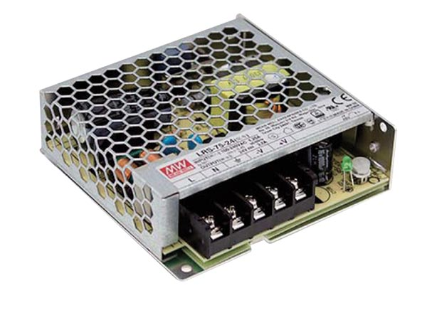 Switching power supply - fixed voltage - 72W - 12V - Closed frame ( MeanWell )
