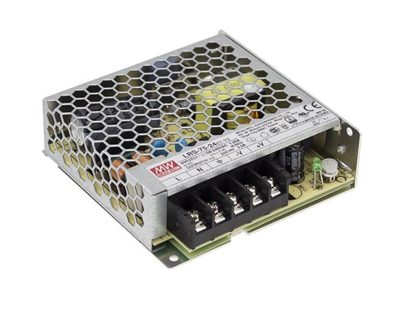 ITE SWITCHING POWER SUPPLY - SINGLE OUTPUT - 75 W - 24 V - CLOSED FRAME - FOR PROFESSIONAL USE ONLY