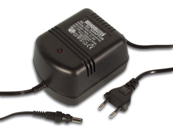 HQ-Power PS2410: NON-REGULATED DIRECT PLUG-IN ADAPTER 24Vdc