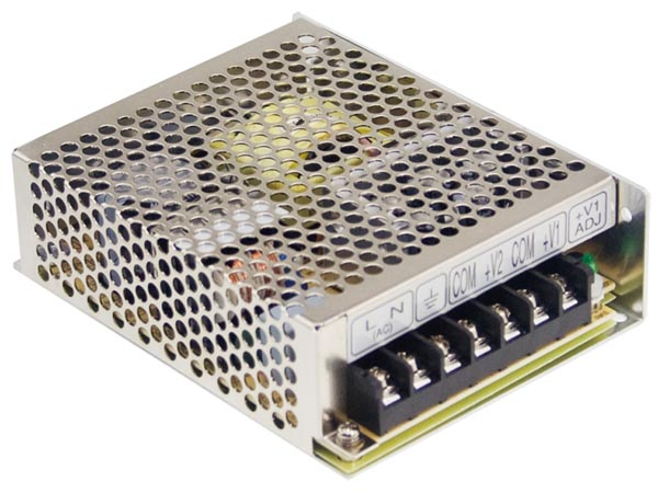 ITE SWITCHING POWER SUPPLY - SINGLE OUTPUT - 75 W - 24 V - CLOSED FRAME
