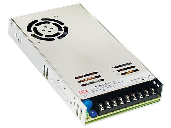 ITE SWITCHING POWER SUPPLY - SINGLE OUTPUT - 320 W - 12 V - CLOSED FRAME