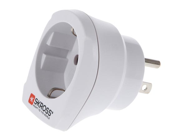 Travel Adapter Europe To Usa