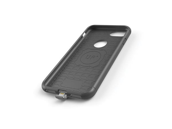 EXELIUM - MAGNETIZED WIRELESS CHARGING CASE - iPhone® 7/6S/6 - BLACK