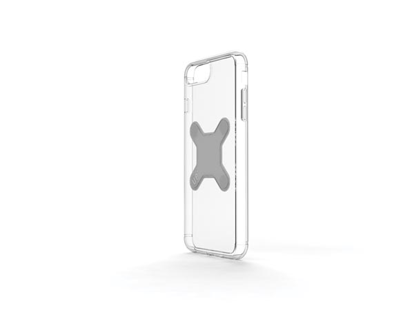 EXELIUM - MAGNETIZED PROTECTIVE CASE FOR WIRELESS CHARGING - iPhone® 8+ - TRANSPARENT