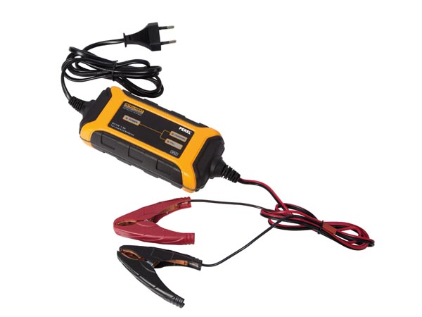 INTELLIGENT CHARGER FOR 12 VDC LEAD-ACID BATTERIES - 1.5 A
