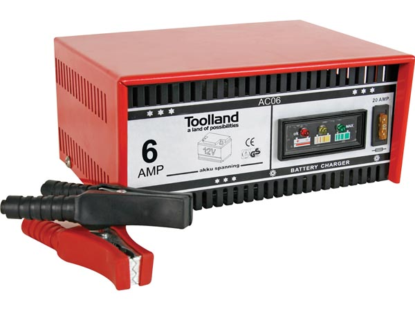 CHARGER FOR 12V LEAD-ACID BATTERIES - 6A