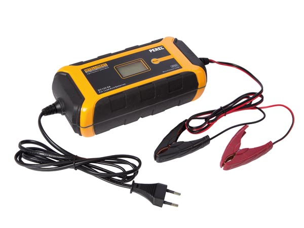 INTELLIGENT CHARGER FOR 12 VDC LEAD-ACID BATTERIES - 8 A