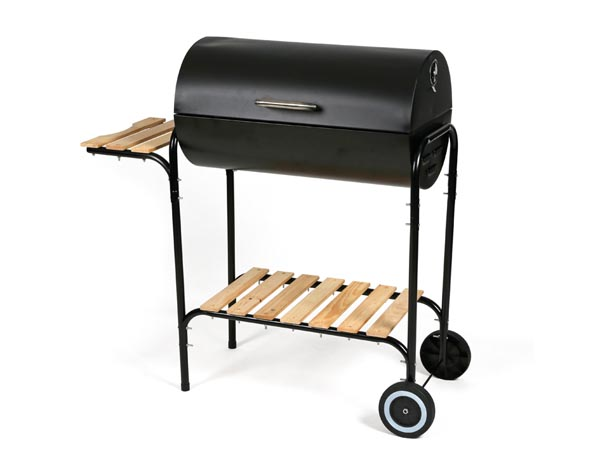Barbecue - Barrel Grill With Lid