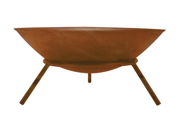 Fire Bowl - Rusted