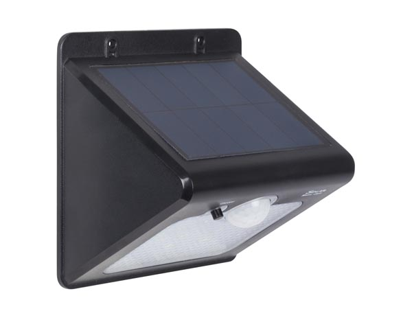 WATERPROOF SOLAR LIGHT WITH PIR SENSOR