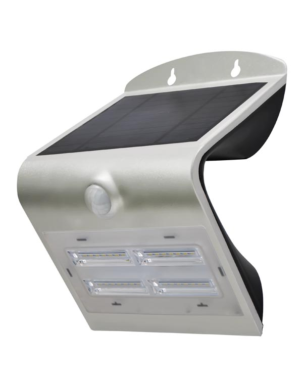 SOLAR LED WALL LIGHT WITH PIR SENSOR - 3.2 W