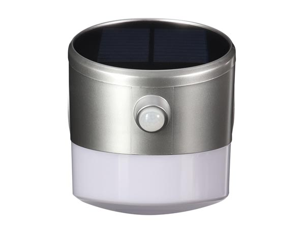 Solar LED Wall Light With Pir Sensor - 2 W - Crown Shape