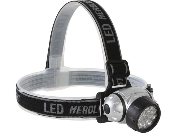 HEADLAMP WITH 23 ULTRABRIGHT WHITE LEDS