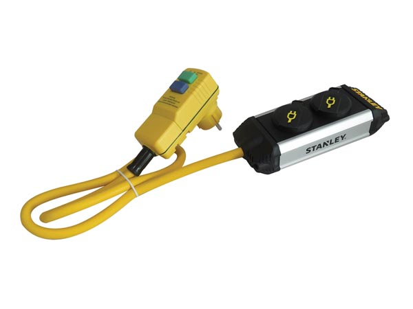 STANLEY - 2 - SOCKET COVERED OUTLETS RCD