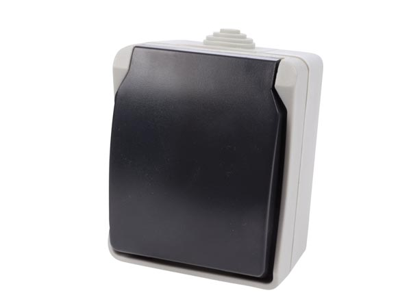 Outdoor Ip54 Wall Socket - French