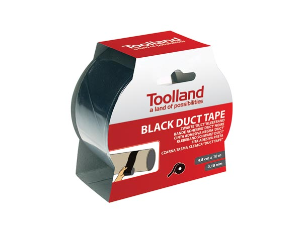 Tape Black Duct 4.8cm X 10m