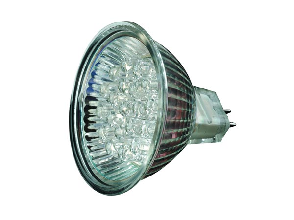 GARDEN LIGHTS - MR16 LED pirn - 20 LED - valge