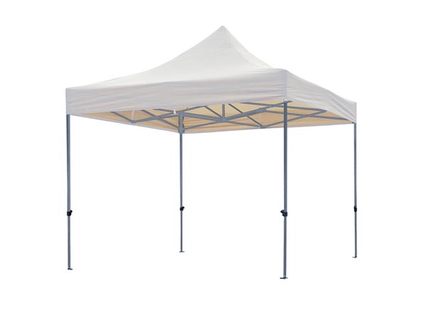 Professional Gazebo - White - 3 X 3m
