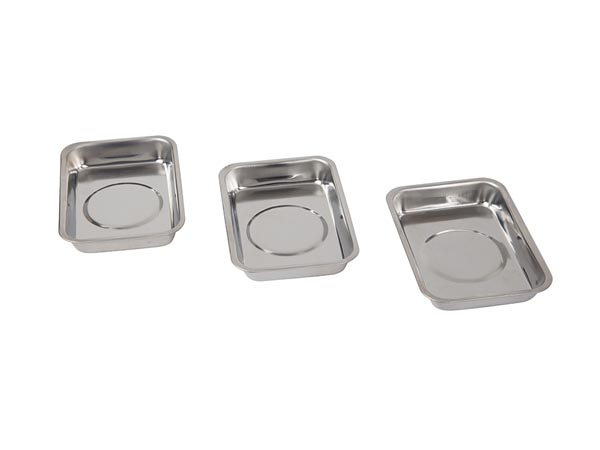 Magnetic Tray Set - Reactangular - 3 Pcs