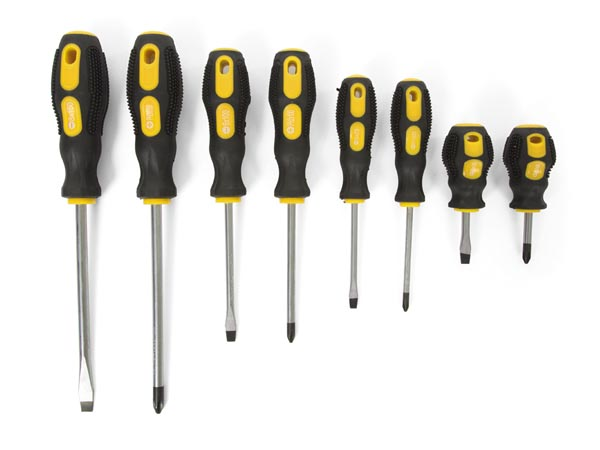 SCREWDRIVER SET - 8 pcs