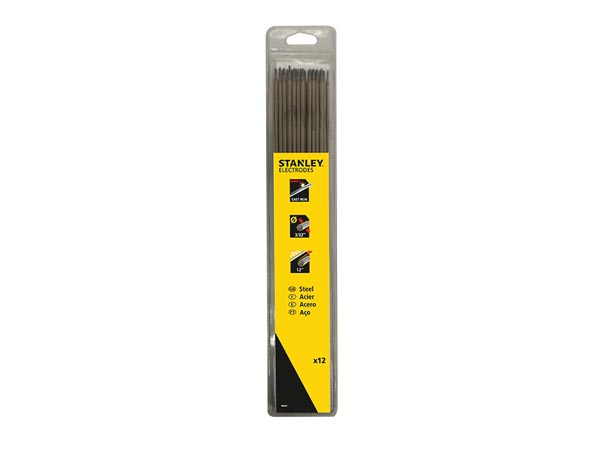 STANLEY WELDING - STAINLESS STEEL ELECTRODES IRON ELECTRODES A5.15 2.5x300- 12pcs