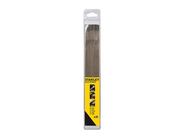 STANLEY WELDING - RUTILE ELECTRODES D2.0x300, 25 PCS, IN BLISTER