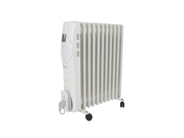 OIL FILLED RADIATOR - 2500 W - 11 FINS - LCD DISPLAY