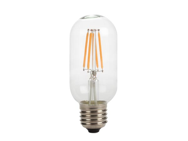 Antique LED Filament Bulb - T45 - 4w - E27 - Intense Warm White
