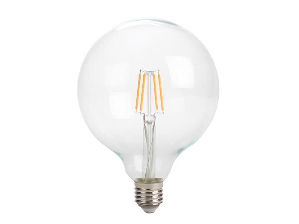 Antique LED Filament Bulb - G125 - 4w - E27 - Intense Warm White